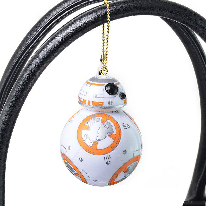 BB - 8 Portable Robot Spherical Shape Key Chain Pendant for Bag Hanging Gift - COLORMIX