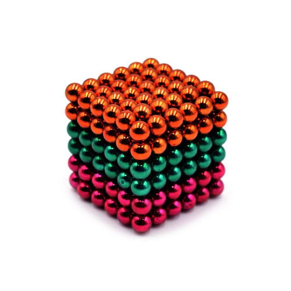 DECAKER 5mm 216Pcs NdFeB Magnetic Bead Novelty Educational Toy for Children new style 432pcs mini 3mm diameter magnetic ball sphere neodymium puzzle ndfeb novelty toy for kids children
