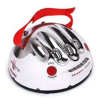 Electric Shocking Liar Novelty Game Interesting Lie Detector Game -  WHITE
