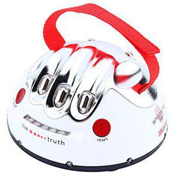 Electric Shocking Liar Novelty Game Interesting Lie Detector Game - WHITE WHITE