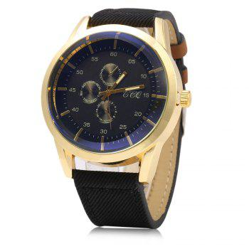 S-56 Three Decorative Sub-dials Male Quartz Watch