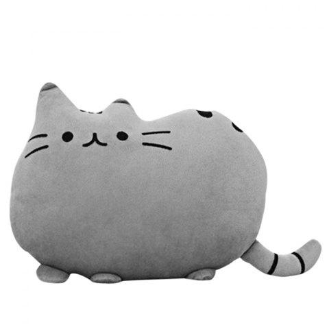 30cm Height Cute Stuffed Cat Plush Doll Stuffed Toy for Kids Gift - GRAY