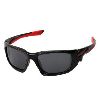 KASHILUO XQ049 Polarizing UV Resistant Cycling Glasses -  BLACK/GREY