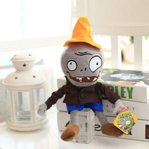 1PC Cute 30cm Game Figure Doll PP Cotton Plush Stuffed Toy for Children - COLORMIX WEAR HAT
