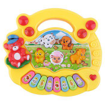 Child Animal Farm Musical Electronic Piano Intelligence Toy