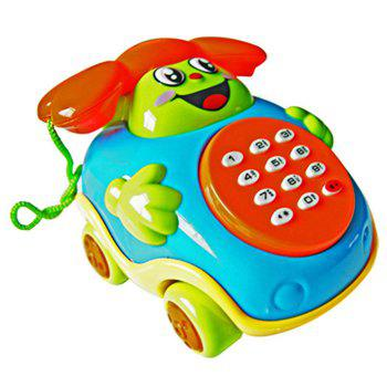 Infant Cartoon Musical Phone Car Educational Intelligence Toy