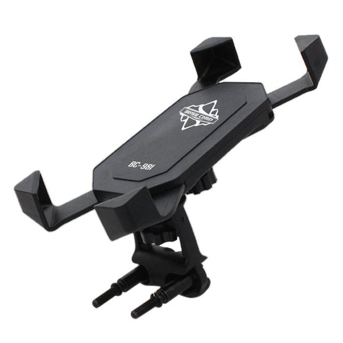 BASECAMP BC-981 Bike Holder for Cellphone Practical Navigation Bracket - BLACK