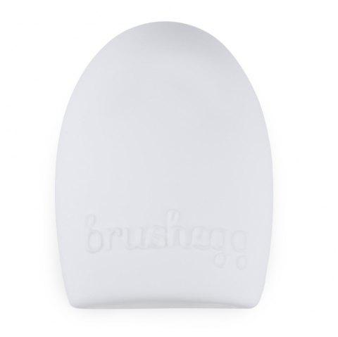 Makeup Brush Cleaner Finger Silicone Glove Cosmetic Cleaning Tool - WHITE