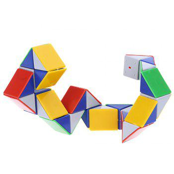3D Magic Snake Puzzle Game Cube Brain Twisting Speed Toy -  COLORMIX