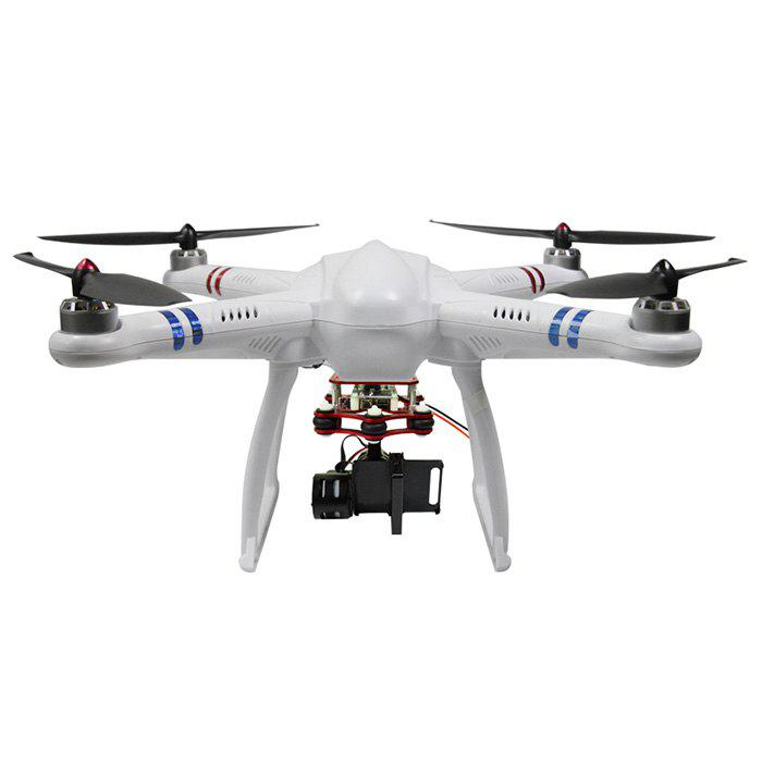 Refurbished FreeX MCFX - 01 2.4G 7 Channel 6 Axis Gyro Quadcopter Carefree Flight Mode Ready-to-fly - WHITE