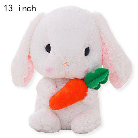 Anime Figure Style Plush Toy Stuffed Doll Decoration Gift - 13 inch - WHITE
