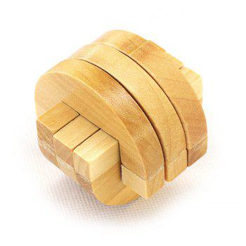 Maikou MK501 Puzzle Educational Wooden Interlock Toy Birthday Gift