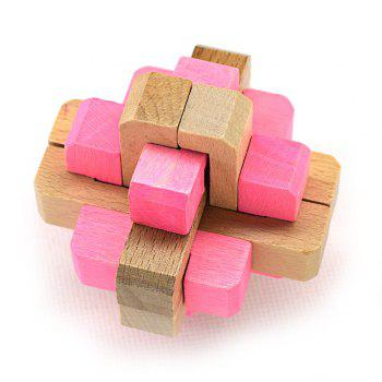 Maikou MK505 Puzzle Educational Beech Interlock Toy Birthday Gift