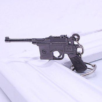 Buy Key Chain 38 Rifle Pistol Hanging Pendant Metal Keyring Online Military Game Toy Bag Decoration
