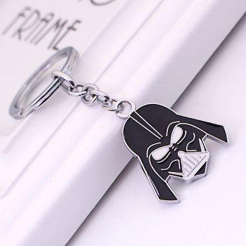 Key Chain Hanging Pendant Warrior Shape Keyring Movie Product for Bag Decoration -  BLACK