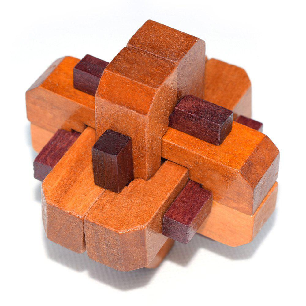 Maikou MK503 Puzzle Educational Wooden Interlock Toy Brain Teaser Birthday Gift dayan 5 zhanchi 3x3x3 brain teaser magic iq cube