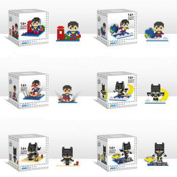 6 Box / Set Hero Style Building Block Educational Movie Product Kid Toy
