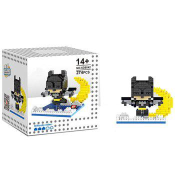 6 Box / Set Hero Style Building Block Educational Movie Product Kid Toy -  COLORMIX