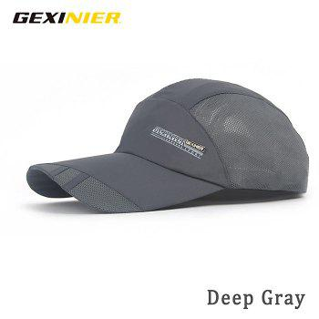 GEXINER Unisex Quick Dry Mesh Visor Hat for Outdoor Sport