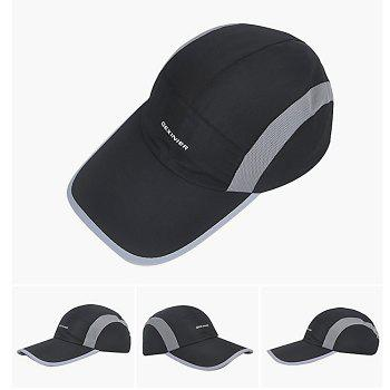 GEXINER Unisex UV-resistant Baseball Hat for Outdoor Sport - BLACK