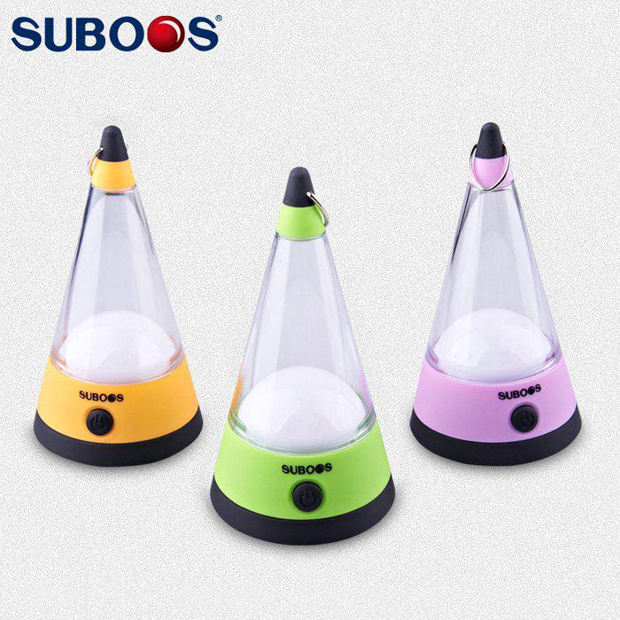 SUBOOS ZT - 6012 12 LED Camping Tent Lantern Practical Droplight Desk Lamp - LIGHT PURPLE