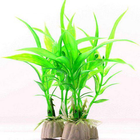 Limited Offer 2019 Aquarium Plastic Simulation Lucky Bamboo Style