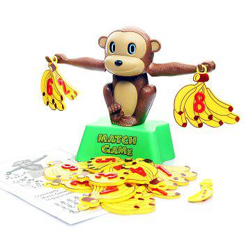 Creative Monkey Banana Match Game Balance Scale Intelligence Toy for Kid