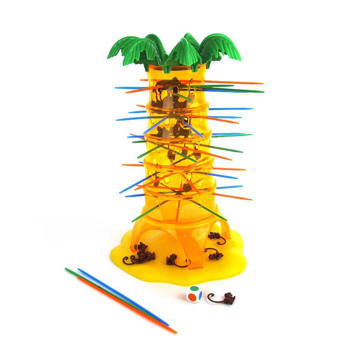 Funny Falling Tumbling Monkey Parenting Family Interactive Toy funny fishing game family child interactive fun desktop toy