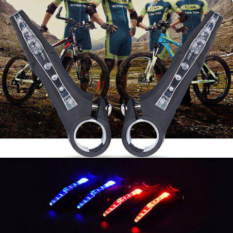 Bicycle Handlebar Light Turn Signal Lamp Super Bright for Cycling - BLUE