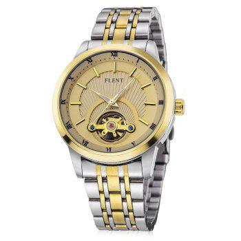 FLENT b089 Tourbillon Roman Number Scale Male Automatic Mechanical Watch