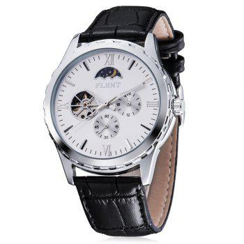 FLENT b083 Working Sub dials Men Automatic Mechanical Watch