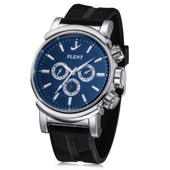 FLENT b082 Working Sub dials Men Quartz Watch