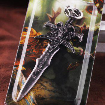 Key Chain Sword Style Hanging Pendant Alloy Keyring Online Video Game Toy for Bag Decoration - STYLE 1 STYLE 1