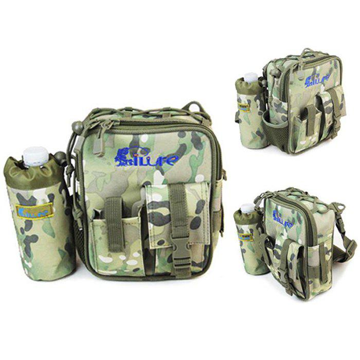 ILURE 3L Fishing Bag Tear Resistant Waterproof Design - URBAN CAMOUFLAGE