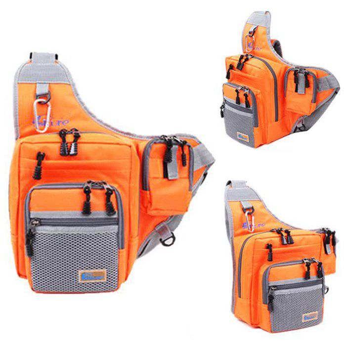 ILURE 4L Fishing Bag Multipurpose Waterproof Saddle Pack - ORANGE