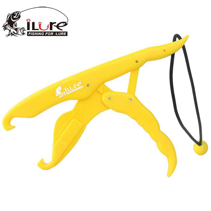 ILURE Fish Gripper ABS Portable Fishing Gear - YELLOW