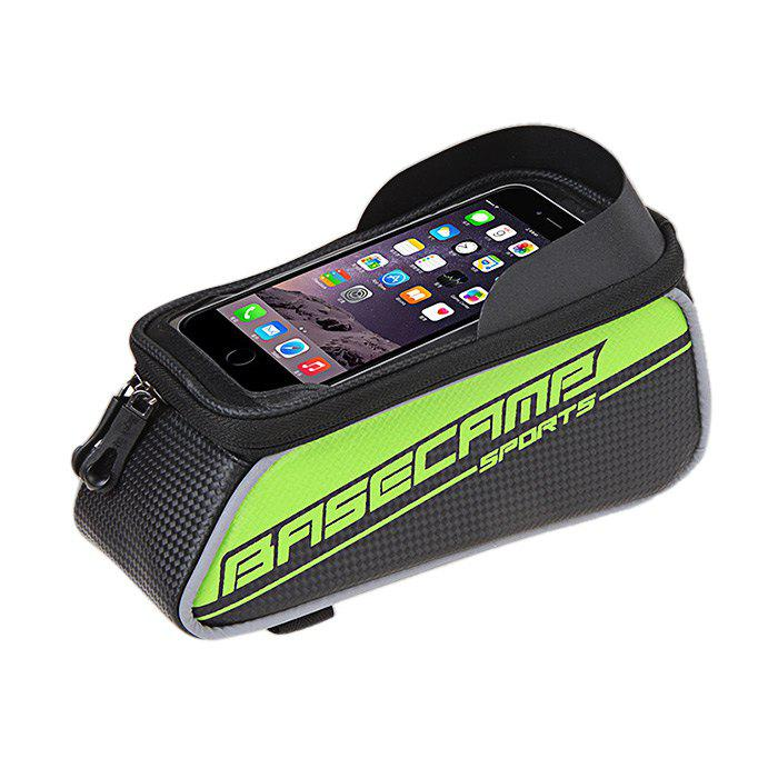 BaseCamp BC - 302 Touch Screen Water Resistant 4.7 inch Bicycle Front Tube Bag for Cycling new balance 1500 made in uk