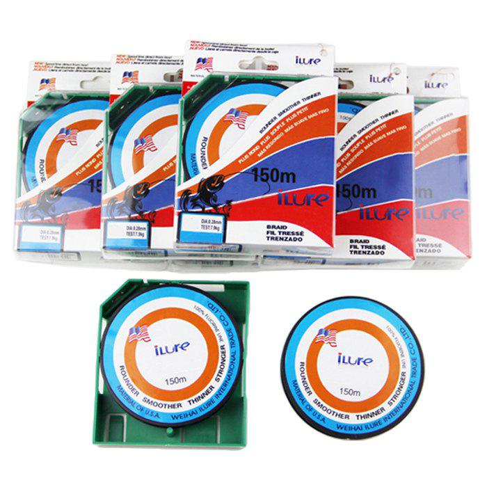 ILURE 150M Carbon Fiber Fishing Line ( Line 1.0 ) - COLORMIX