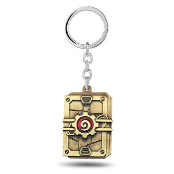 Key Chain Hanging Pendant Alloy Keyring Online Video Game Toy for Bag Decoration - COLORMIX COLORMIX