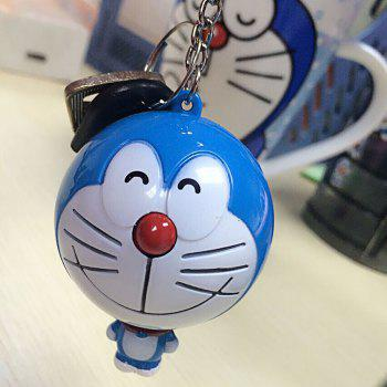 Mini 100CM Cartoon Figure Measuring Tape Ruler Auto Stretch Key Chain -  COLORMIX