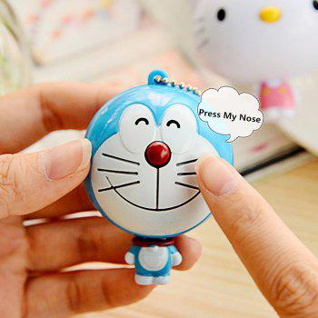 Mini 100CM Cartoon Figure Measuring Tape Ruler Auto Stretch Key Chain - COLORMIX COLORMIX