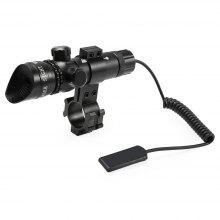 Compact Tactical Bright Light Red Dot Laser Telescope