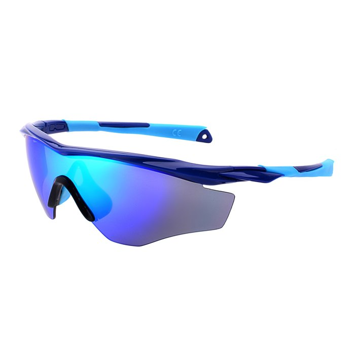 9212C4 Unisex Sunglasses Sport Glasses for Outdoor Activities - BLUE