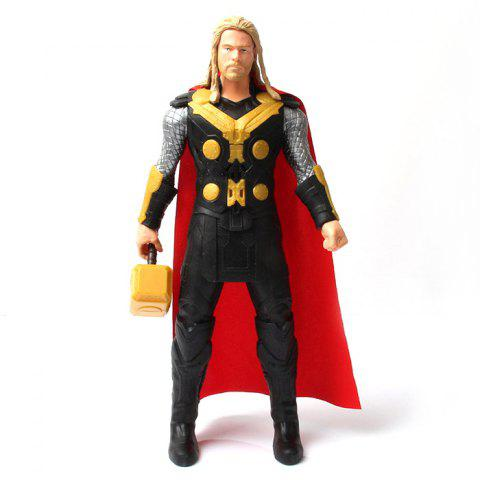 PVC Hero Action Figure Animation Collectible Figurine with Sound - 11.5 inch - COLORMIX