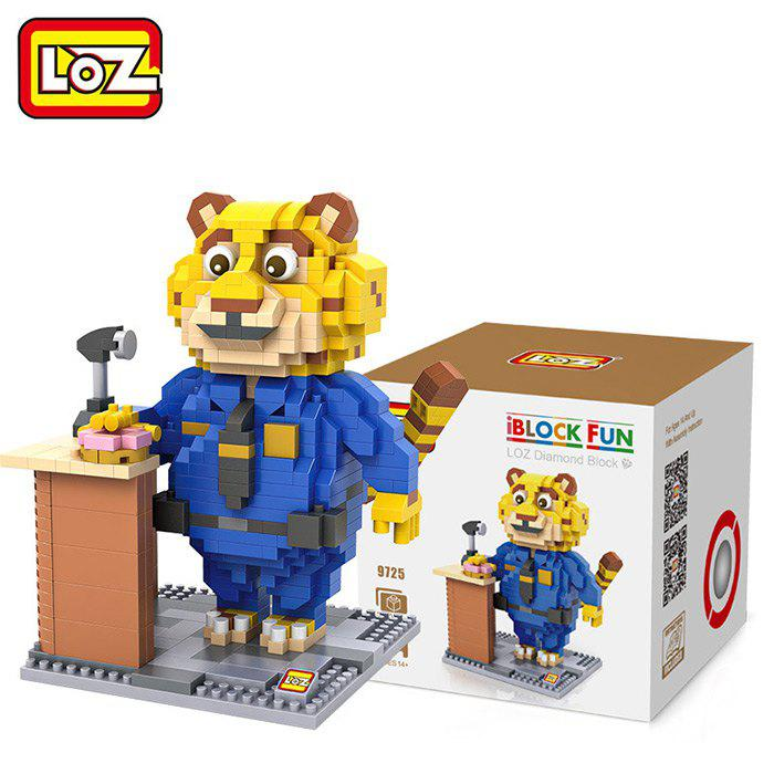 LOZ ABS Animal Image Building Block Educational Cartoon Movie Product Kid Toy - 700Pcs free shipping 86hy c4 220v four way hesunse ir remote control switch for lighting exhibition hall black color
