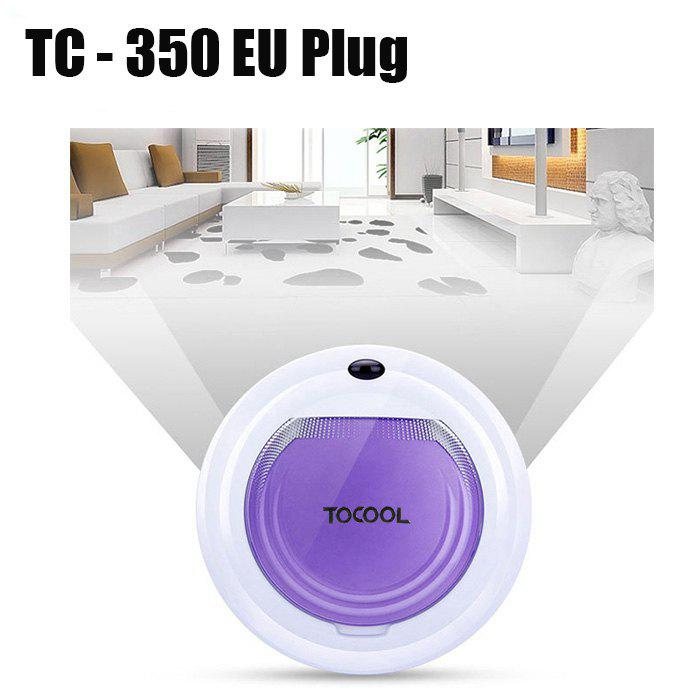 TOCOOL TC - 350 Smart Robotic Cleaner Cordless Sweeping Cleaning Machine IR Avoidance Sensor Mopping Tool - PURPLE EU PLUG