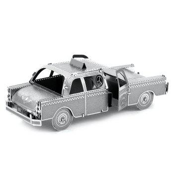 ZOYO Taxi Style Metallic Building Puzzle 3D Educational DIY Assembling Toy