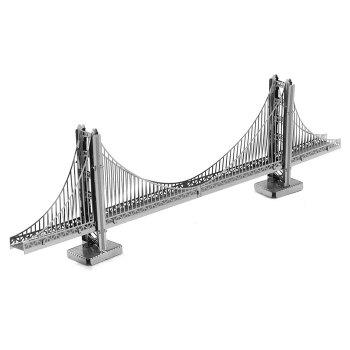 ZOYO 3D Golden Gate Bridge Style Metallic Building Puzzle Educational DIY Assembling Toy