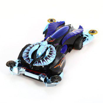 AULDEY 88501 Racing Car ABS Educational Birthday Present with Brushed Motor - STYLE 4 STYLE 4