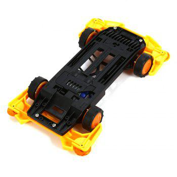 AULDEY 88009 Racing Car Kit ABS Building Brick Educational Birthday Present with Brushed Motor - COLORMIX STYLE 1